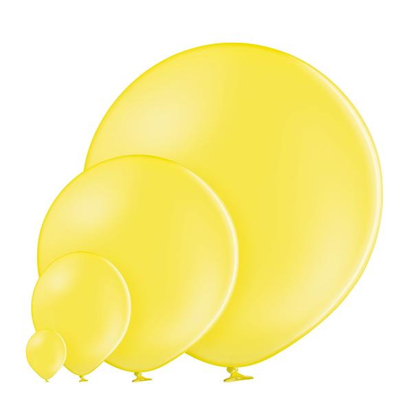 Pastel 006 Yellow Balloons
