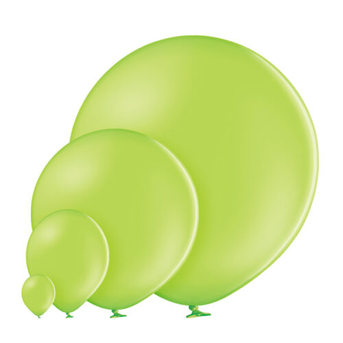 Pastel 008 Apple Green Balloons