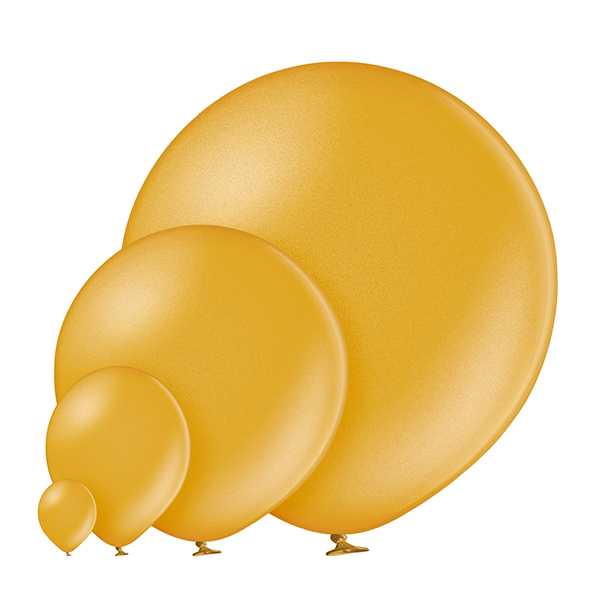 Metallic 060 Gold Balloons