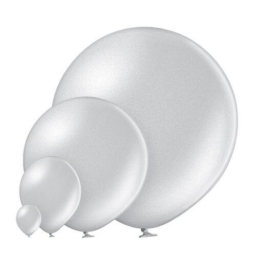 Metallic 061 Silver Balloons