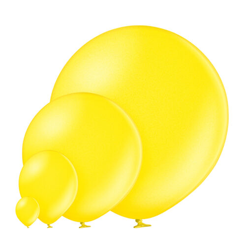 Metallic 082 Citrus Yellow Balloons