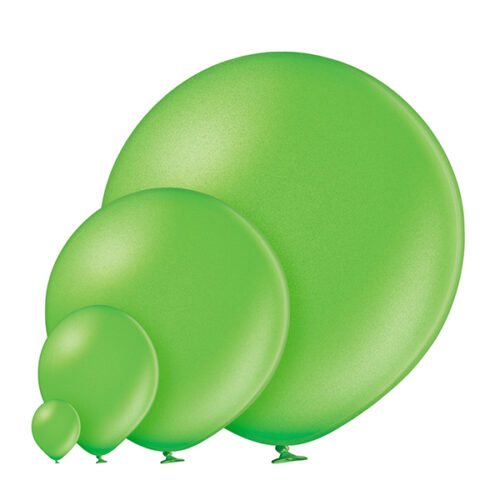 Metallic 083 Lime Green Balloons
