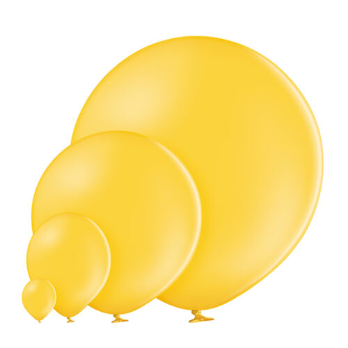 Pastel 117 Bright Yellow Balloons