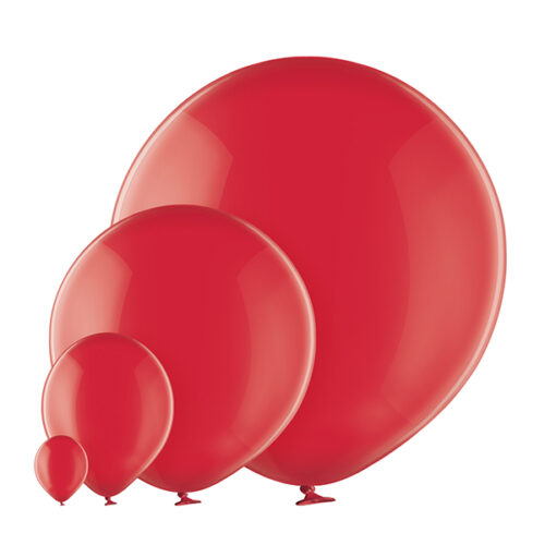 Transparent 131 Royal Red Balloons