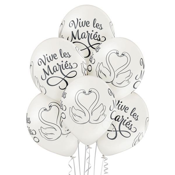 Vive les Maries - Wedding Swans