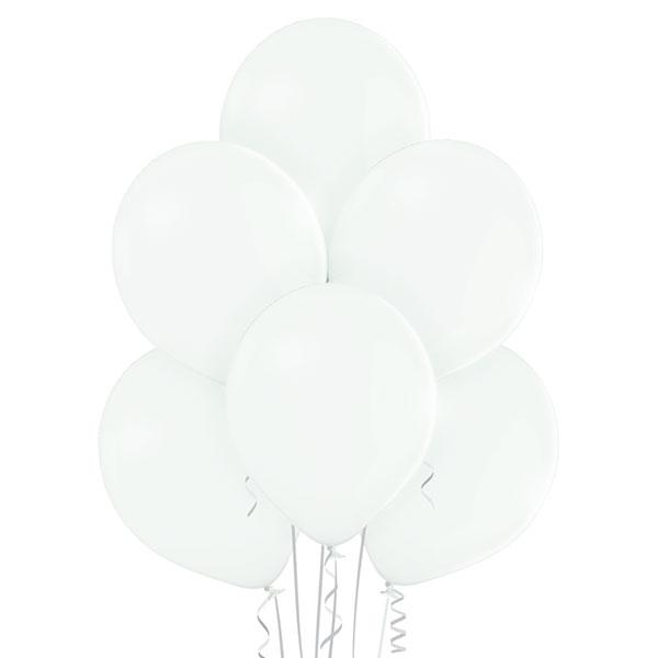 Pastel 002 White Balloons 8ct