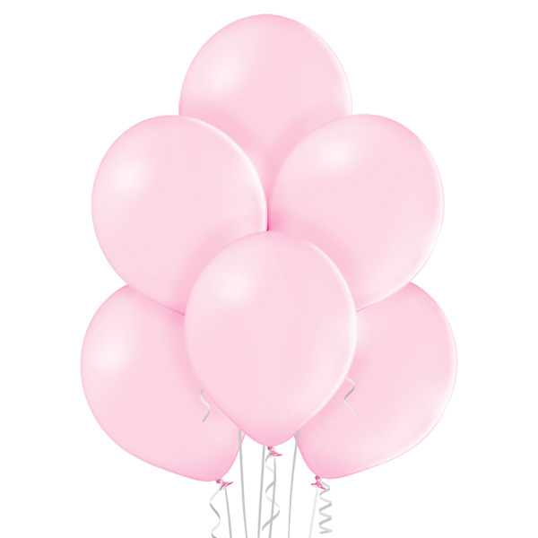 Pastel 004 Pink Balloons 8ct