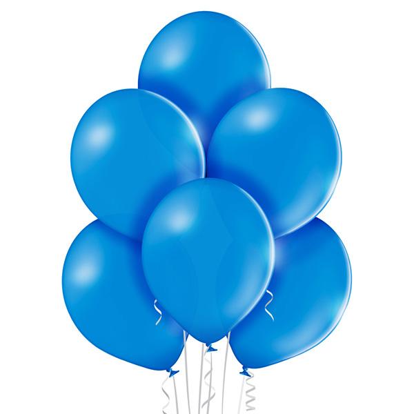 Pastel 012 Mid Blue Balloons 8ct