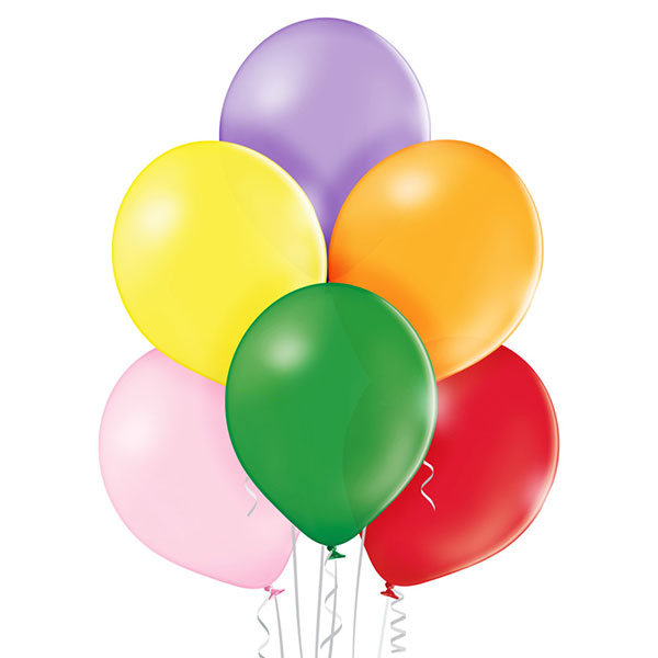 Pastel Assorted Balloons 25 ct