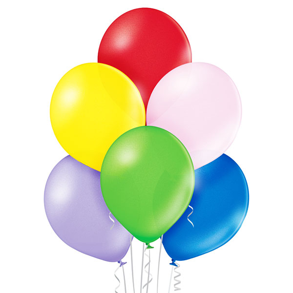 Metallic Assorted Balloons 25ct