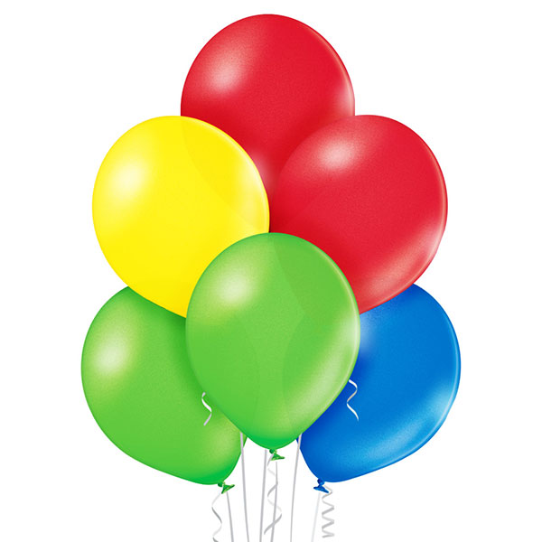 Metallic Assorted Balloons 8ct