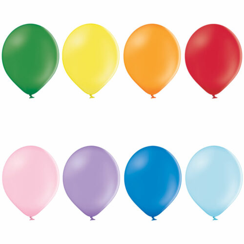 Pastel Assorted Balloons 50ct