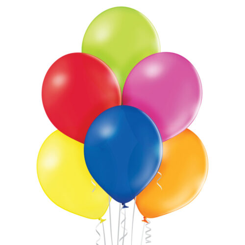 Pastel Extra Small Assorted Balloons 25 ct
