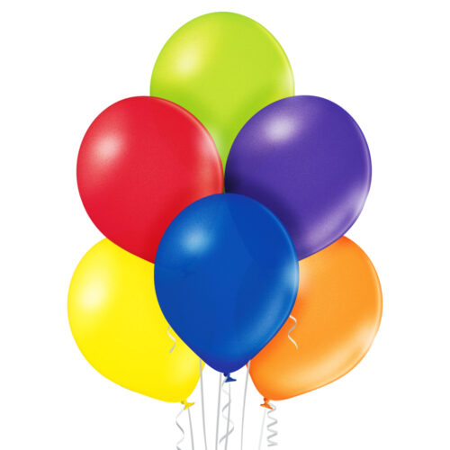 Metallic Premium Assorted Balloons 25 ct