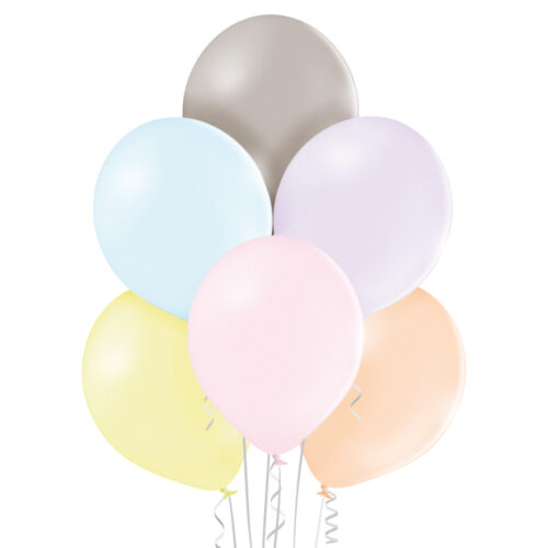 Pastel Macarons Extra Small Assorted Balloons 25 ct