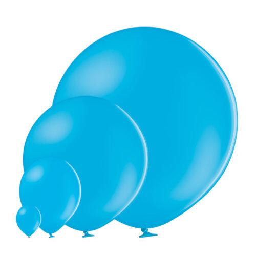 Pastel 445 Cyan Balloons