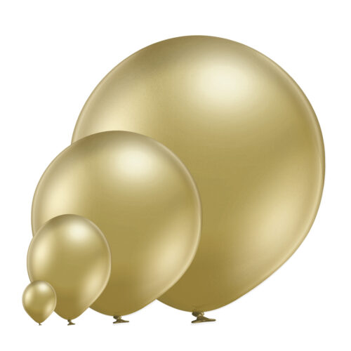 Glossy 600 Gold Balloons