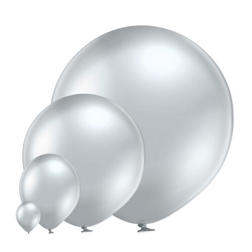 Glossy 601 Silver Balloons