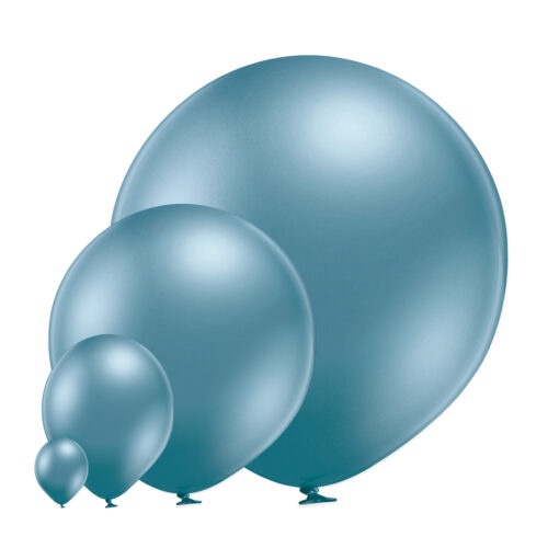 Glossy 605 Blue Balloons